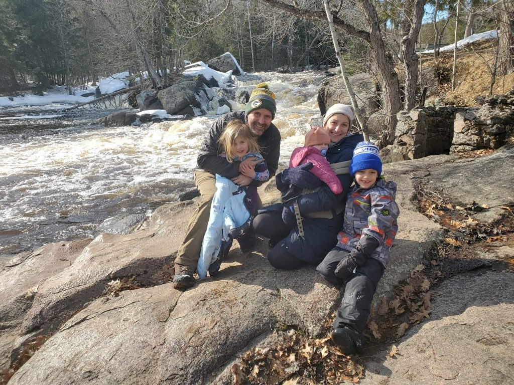Perry LaRoque and Family