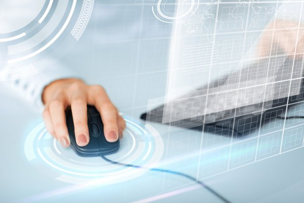 depositphotos 31498639 stock photo woman hands with keyboard and